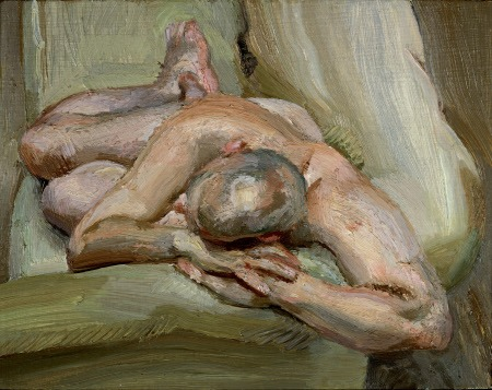Lucian Freud - Leigh on a Green Sofa, 1993