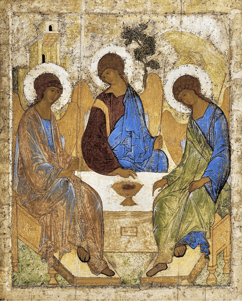 Andrei Rublev, The Holy Trinity