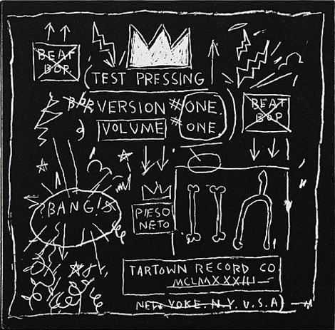Beat Bop. Test Pressing, Version One, Volume One, 1983