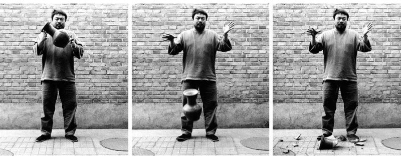Dropping a Han Dynasty Urn, 1995