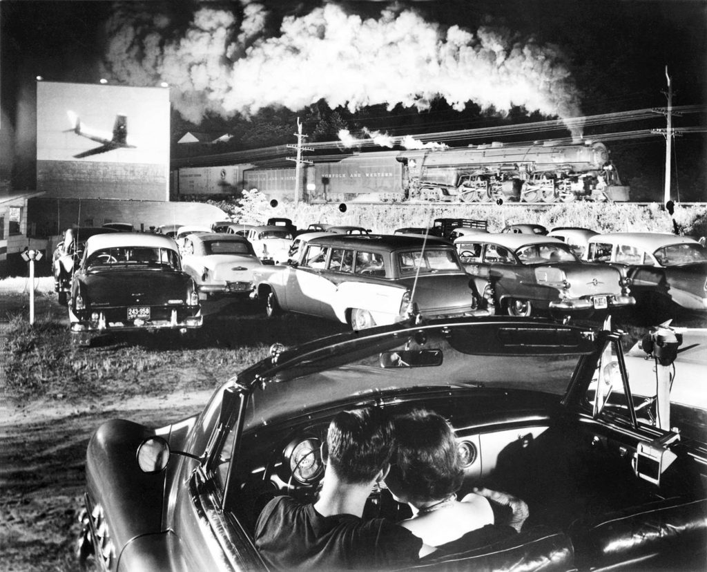 Hotshot Eastbound, Iaeger, West Virginia, July 1957
