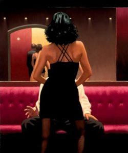 Private Dancer - Jack Vettriano