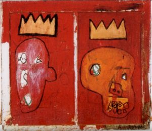 Red Kings painting by Jean-Michel Basquiat,