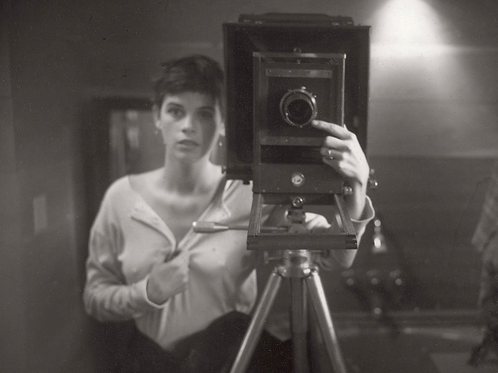 Sally Mann - Self portrait, circa 1974