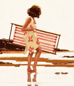 Sweet Bird of Youth Study by Jack Vettriano