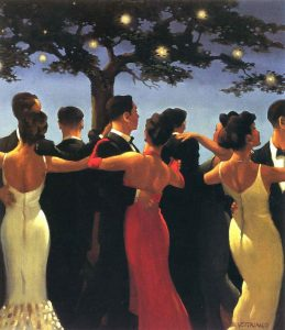 Walzers painting by Jack Vettriano