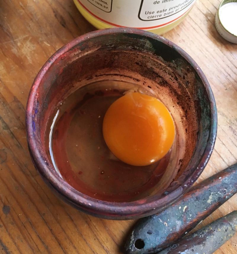 Yolk in a jar